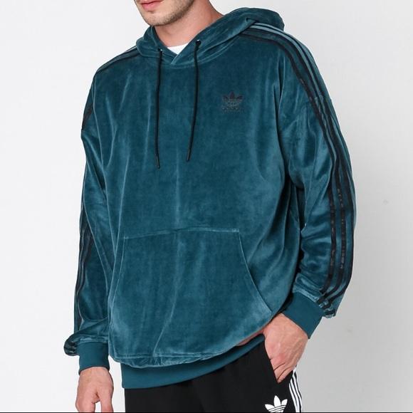 899408eaac97 Brand New Adidas Originals OB Velour Hoodie